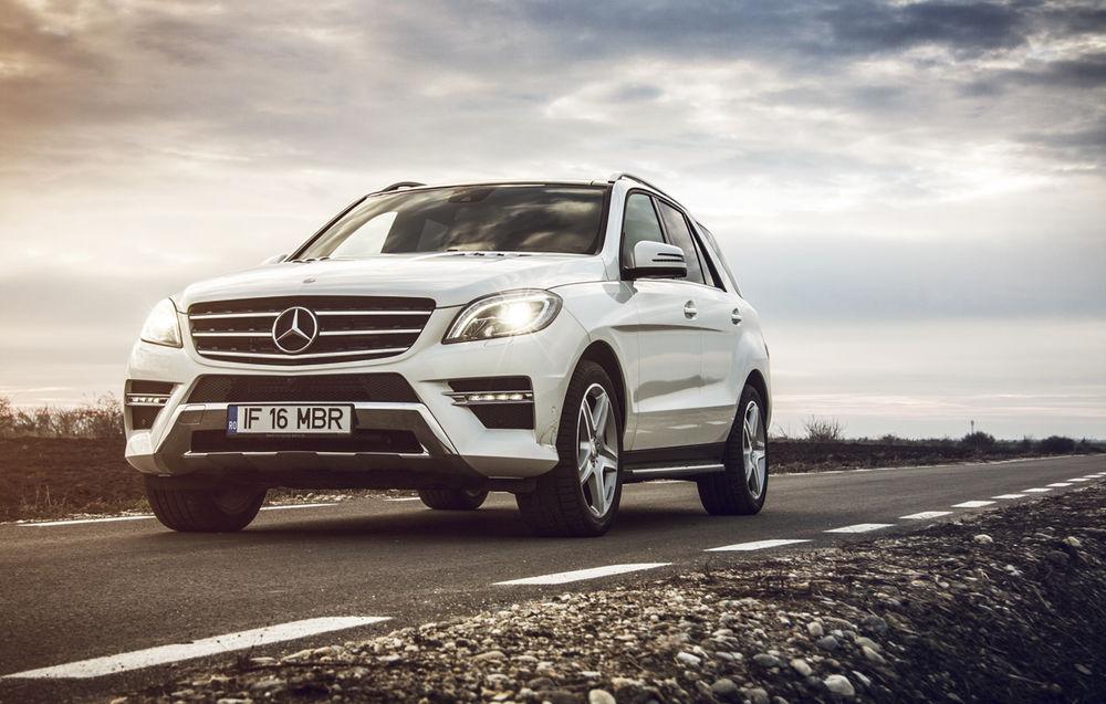 Mercedes-Benz Clasa M (2011-2015)