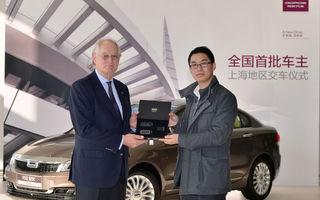 Qoros a livrat primul automobil către un client din Shanghai