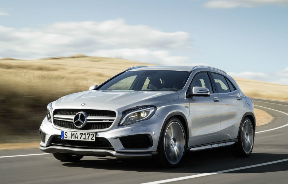 Mercedes-Benz GLA45 AMG - noul SUV compact de performanţă lărgeşte familia AMG - Poza 1