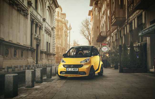 Test drive Smart Fortwo Coupe (2010-2014)