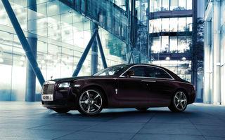 Rolls Royce Ghost V-Spec - o ediţie specială de 600 de cai putere