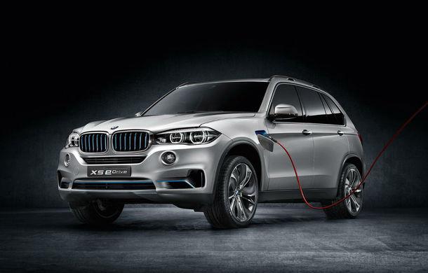 BMW X5 xDrive40e, versiunea electrică a SUV-ului german, debutează anul acesta - Poza 1