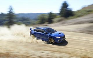 Subaru WRX STI: primele imagini ale noii generaţii