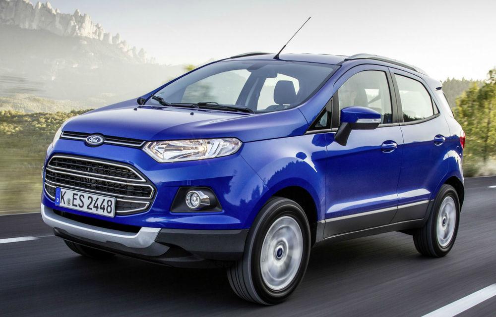 Ford vrea să-şi tripleze vânzările de SUV-uri după lansarea noilor EcoSport şi Edge - Poza 1