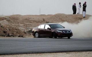 Arabia Saudită aplică măsuri draconice împotriva şoferilor care fac drifturi în trafic