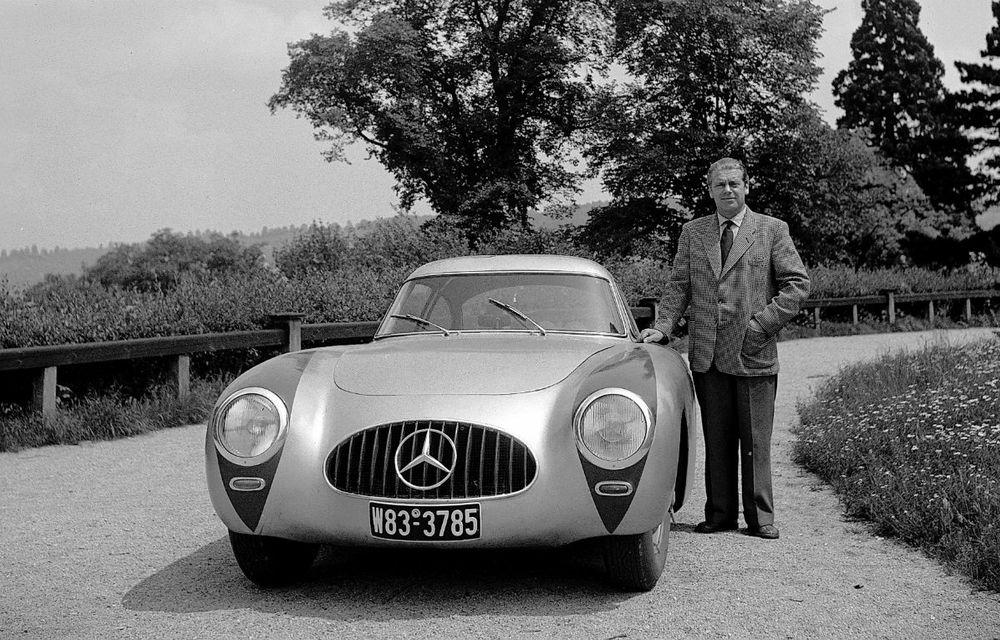 POVEŞTI AUTO: Rudolf Uhlenhaut - inginerul-pilot, părintele lui Mercedes-Benz SL - Poza 10
