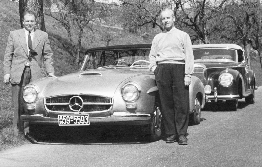 POVEŞTI AUTO: Rudolf Uhlenhaut - inginerul-pilot, părintele lui Mercedes-Benz SL - Poza 6