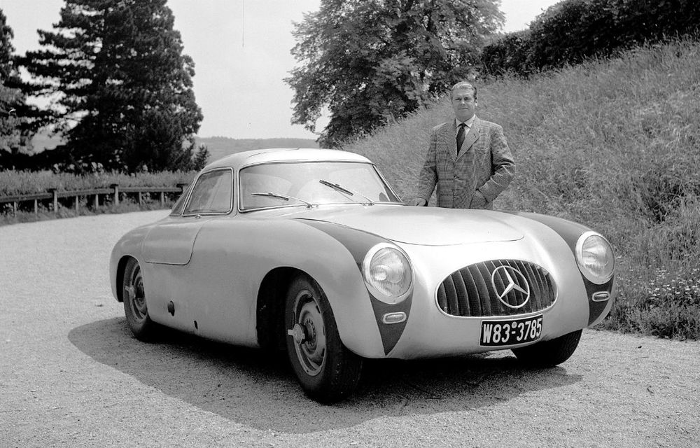 POVEŞTI AUTO: Rudolf Uhlenhaut - inginerul-pilot, părintele lui Mercedes-Benz SL - Poza 8
