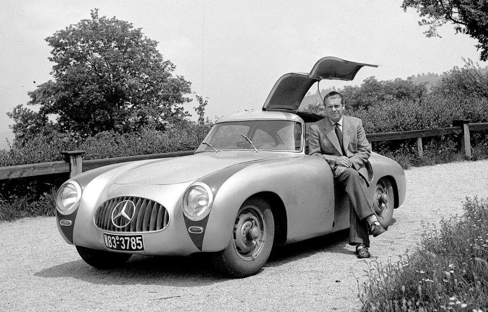 POVEŞTI AUTO: Rudolf Uhlenhaut - inginerul-pilot, părintele lui Mercedes-Benz SL - Poza 1