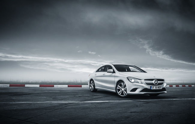 Test drive Mercedes-Benz CLA (2013-2016)