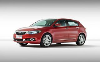 Qoros 3 Hatch - al doilea model al chinezilor va rivaliza cu Volkswagen Golf