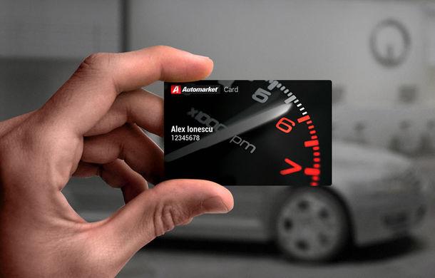 Noul Automarket CARD. 100% gratuit ai zeci de oferte şi promoţii unice din zona auto dedicate tuturor şoferilor din România - Poza 1