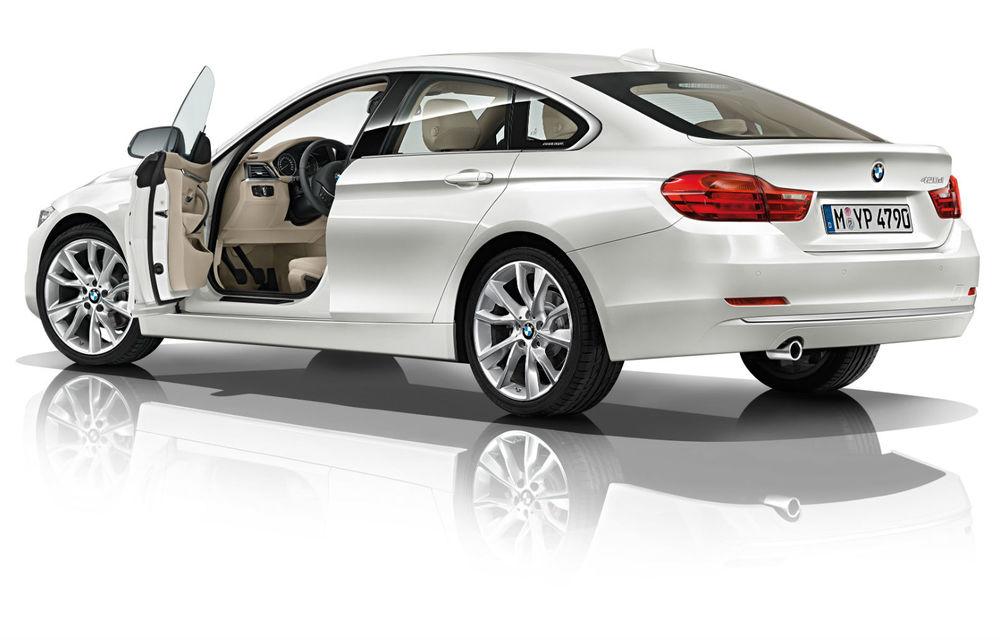 BMW Seria 4 Gran Coupe, al doilea coupe cu patru uşi din portofoliul bavarezilor - Poza 104