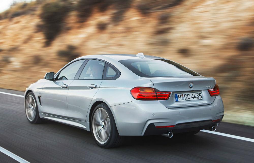 BMW Seria 4 Gran Coupe, al doilea coupe cu patru uşi din portofoliul bavarezilor - Poza 6