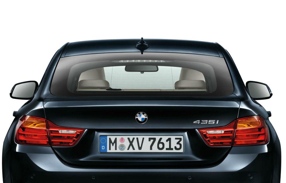 BMW Seria 4 Gran Coupe, al doilea coupe cu patru uşi din portofoliul bavarezilor - Poza 67