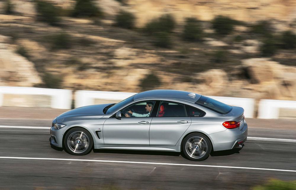 BMW Seria 4 Gran Coupe, al doilea coupe cu patru uşi din portofoliul bavarezilor - Poza 16