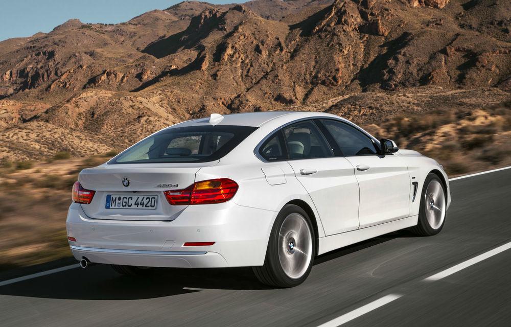 BMW Seria 4 Gran Coupe, al doilea coupe cu patru uşi din portofoliul bavarezilor - Poza 42