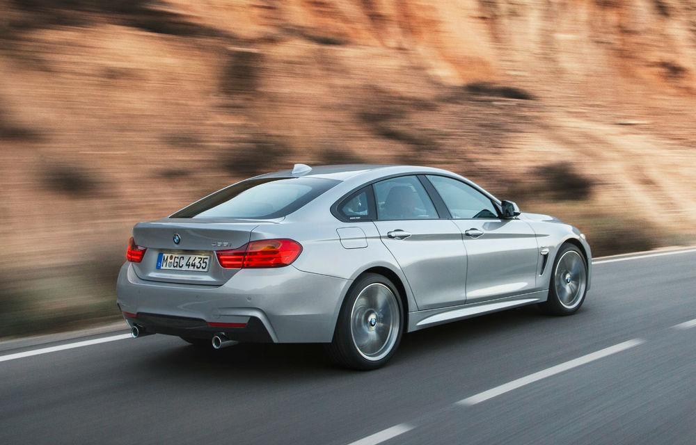BMW Seria 4 Gran Coupe, al doilea coupe cu patru uşi din portofoliul bavarezilor - Poza 8