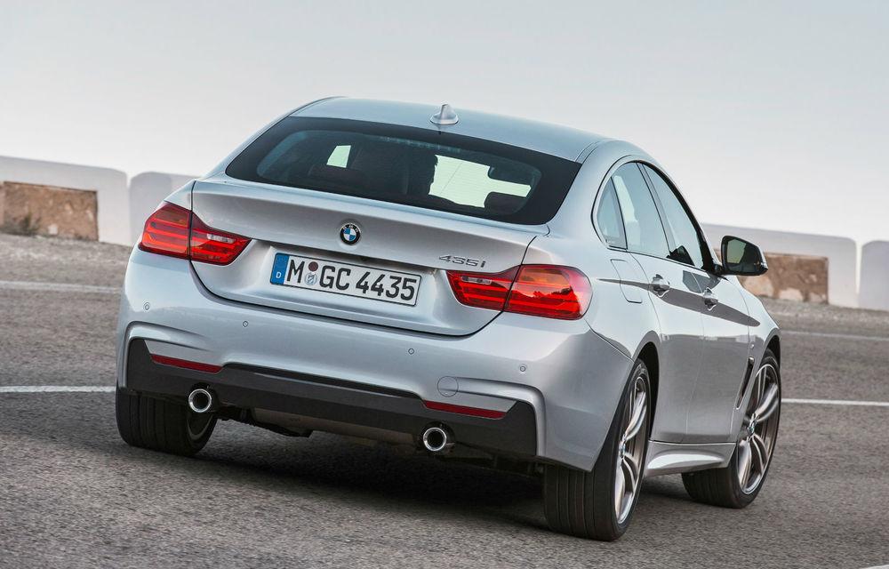 BMW Seria 4 Gran Coupe, al doilea coupe cu patru uşi din portofoliul bavarezilor - Poza 15
