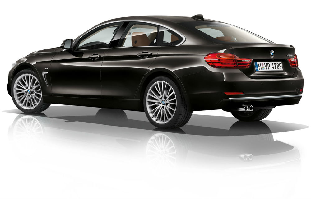 BMW Seria 4 Gran Coupe, al doilea coupe cu patru uşi din portofoliul bavarezilor - Poza 101