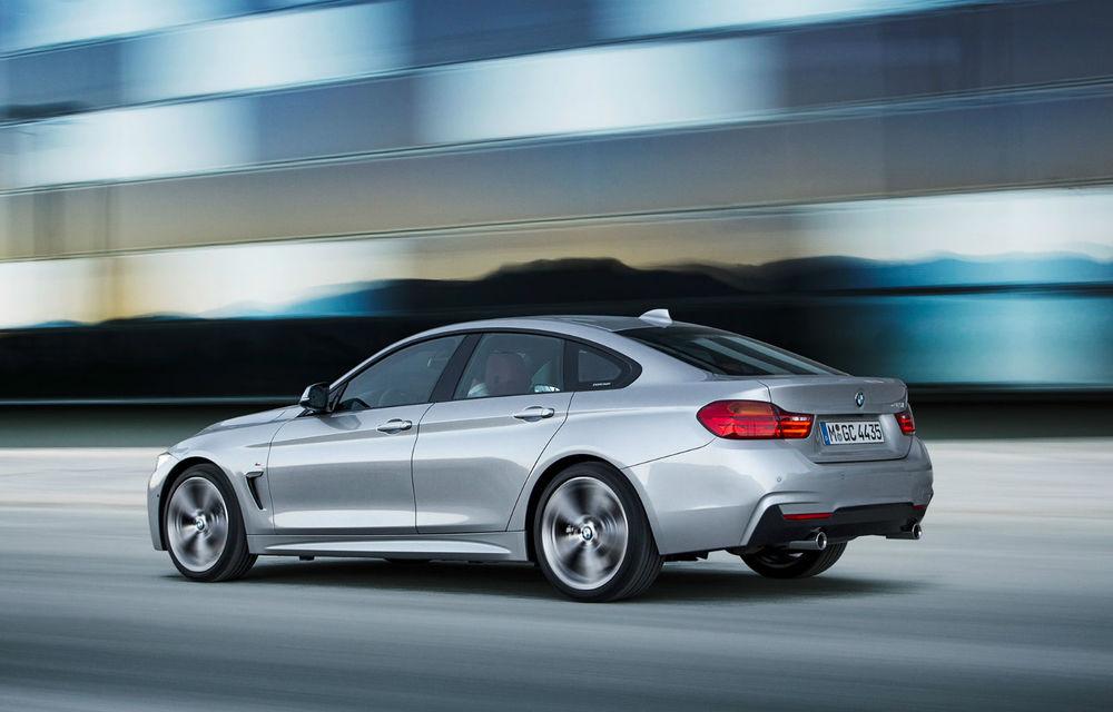 BMW Seria 4 Gran Coupe, al doilea coupe cu patru uşi din portofoliul bavarezilor - Poza 24