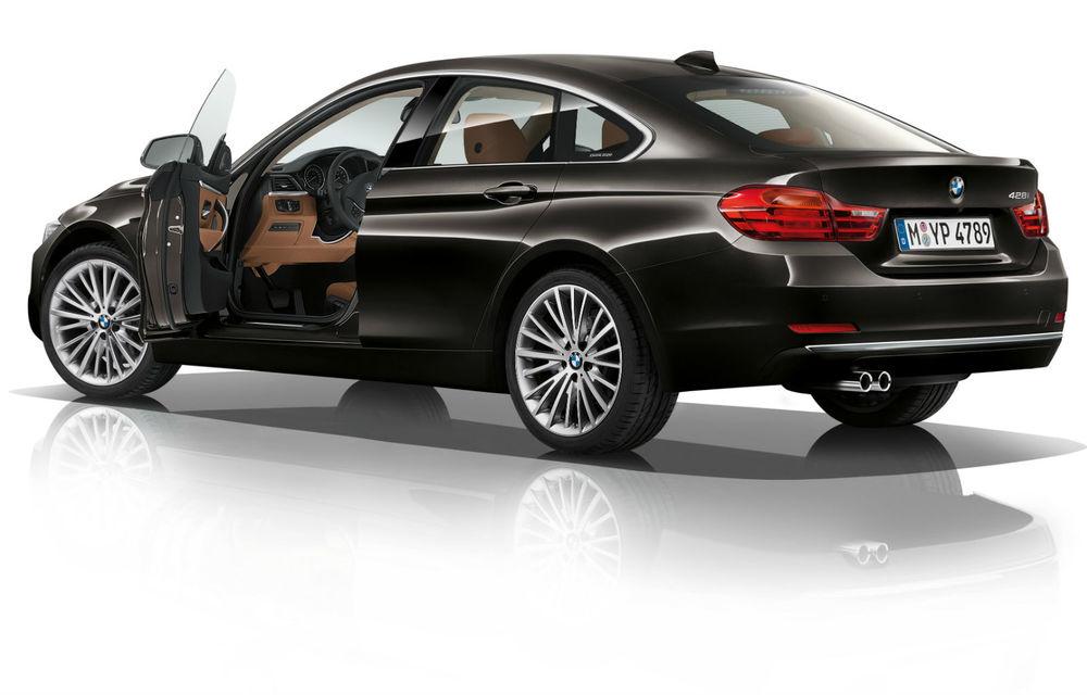 BMW Seria 4 Gran Coupe, al doilea coupe cu patru uşi din portofoliul bavarezilor - Poza 100