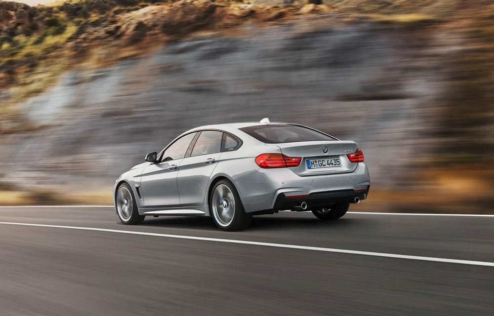BMW Seria 4 Gran Coupe, al doilea coupe cu patru uşi din portofoliul bavarezilor - Poza 28