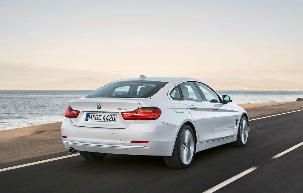 BMW Seria 4 Gran Coupe, al doilea coupe cu patru uşi din portofoliul bavarezilor - Poza 40