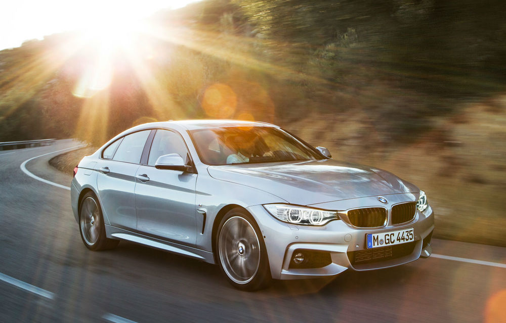 BMW Seria 4 Gran Coupe, al doilea coupe cu patru uşi din portofoliul bavarezilor - Poza 5