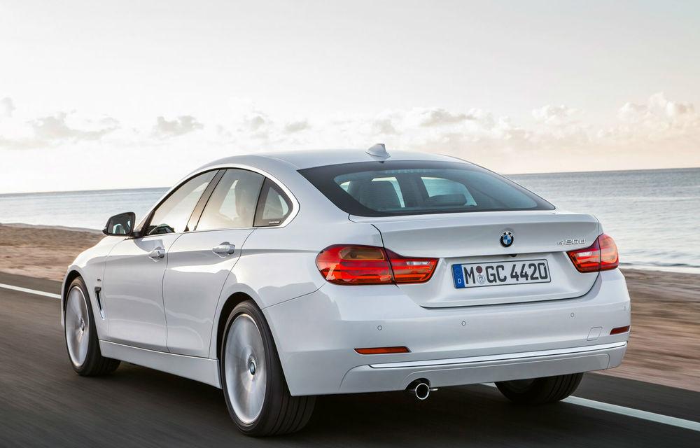 BMW Seria 4 Gran Coupe, al doilea coupe cu patru uşi din portofoliul bavarezilor - Poza 43