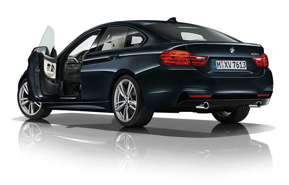 BMW Seria 4 Gran Coupe, al doilea coupe cu patru uşi din portofoliul bavarezilor - Poza 64