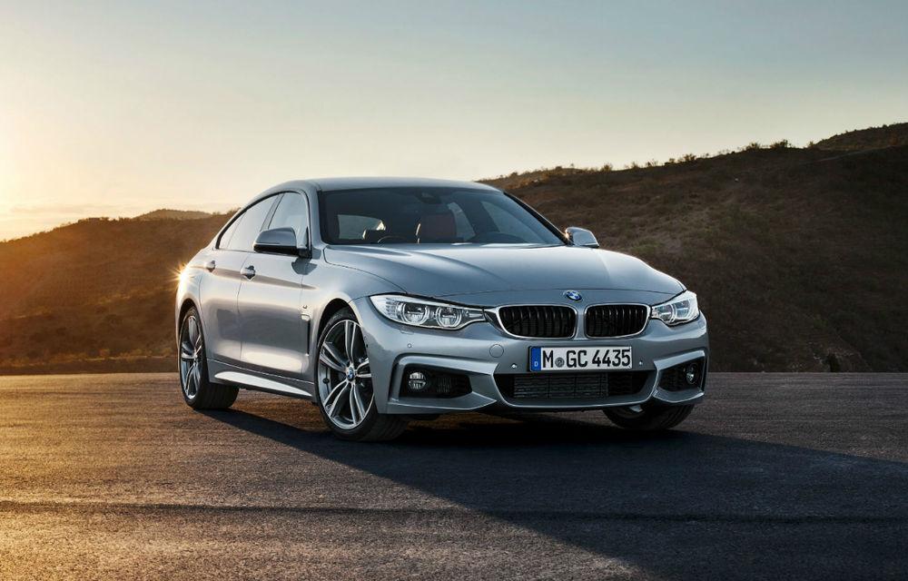 BMW Seria 4 Gran Coupe, al doilea coupe cu patru uşi din portofoliul bavarezilor - Poza 1