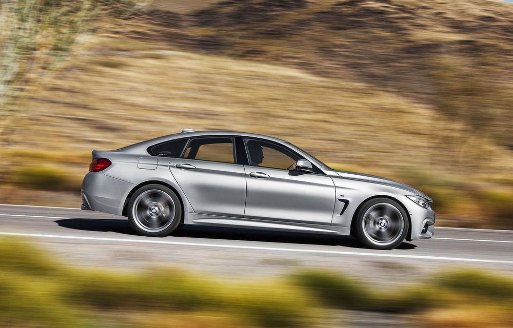 BMW Seria 4 Gran Coupe, al doilea coupe cu patru uşi din portofoliul bavarezilor - Poza 26