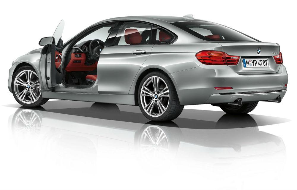 BMW Seria 4 Gran Coupe, al doilea coupe cu patru uşi din portofoliul bavarezilor - Poza 96
