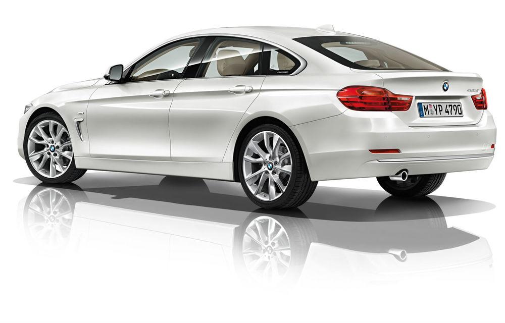 BMW Seria 4 Gran Coupe, al doilea coupe cu patru uşi din portofoliul bavarezilor - Poza 105