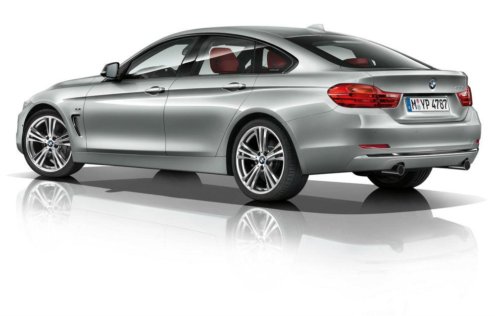 BMW Seria 4 Gran Coupe, al doilea coupe cu patru uşi din portofoliul bavarezilor - Poza 97