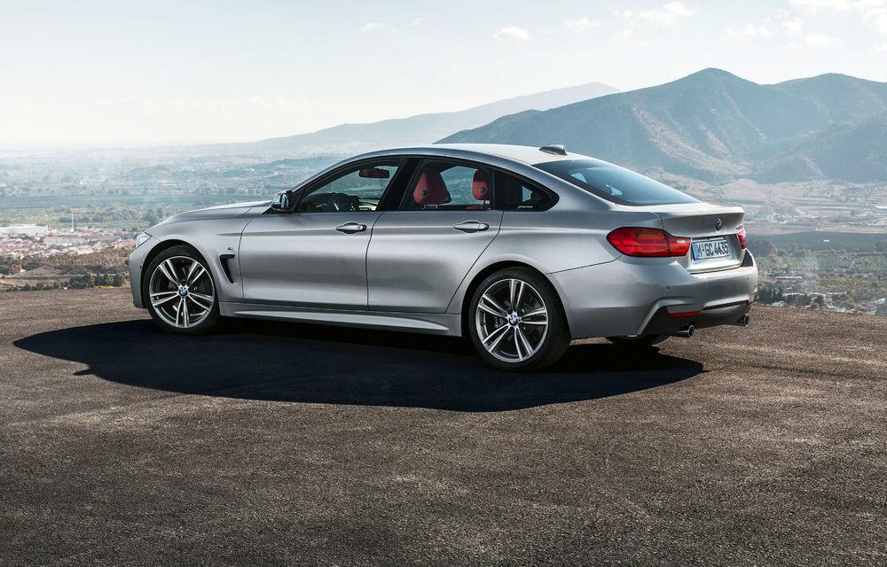 BMW Seria 4 Gran Coupe, al doilea coupe cu patru uşi din portofoliul bavarezilor - Poza 51