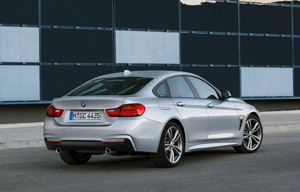 BMW Seria 4 Gran Coupe, al doilea coupe cu patru uşi din portofoliul bavarezilor - Poza 22