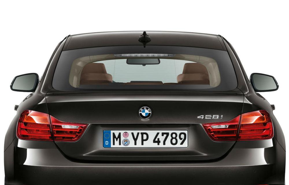 BMW Seria 4 Gran Coupe, al doilea coupe cu patru uşi din portofoliul bavarezilor - Poza 102