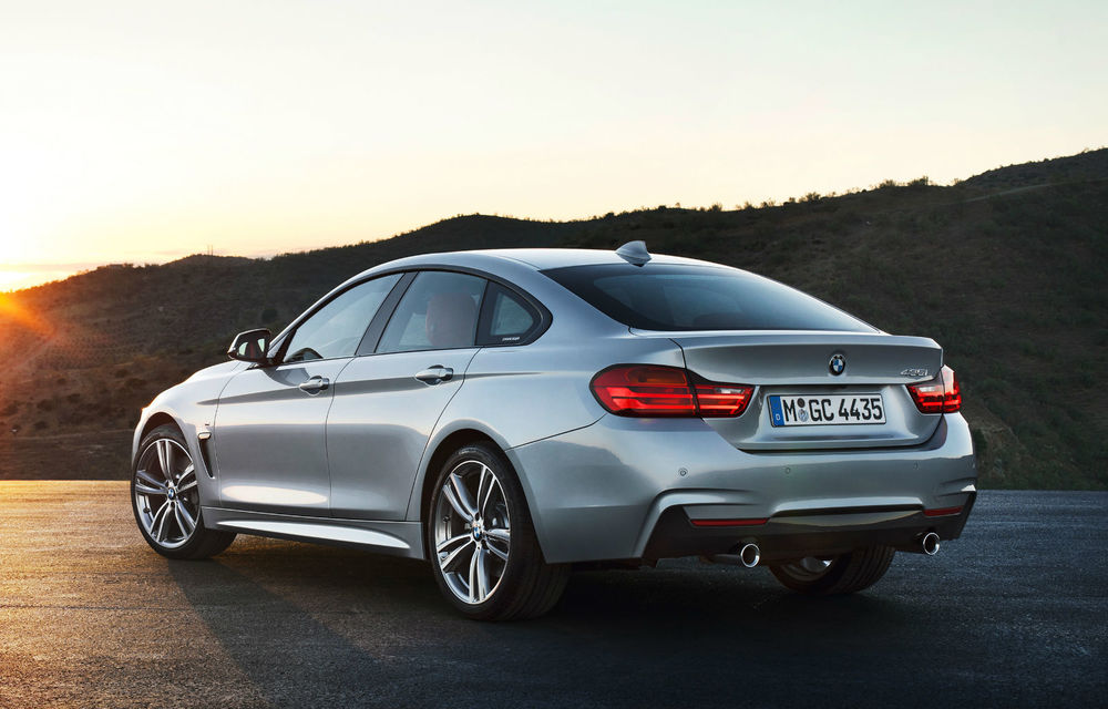 BMW Seria 4 Gran Coupe, al doilea coupe cu patru uşi din portofoliul bavarezilor - Poza 46