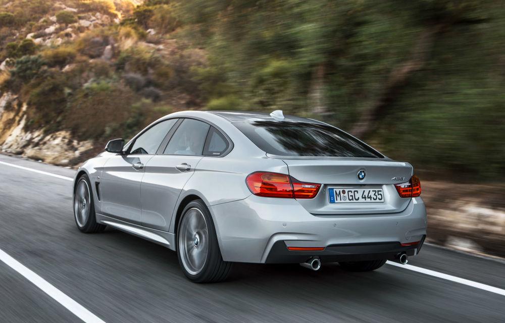 BMW Seria 4 Gran Coupe, al doilea coupe cu patru uşi din portofoliul bavarezilor - Poza 9