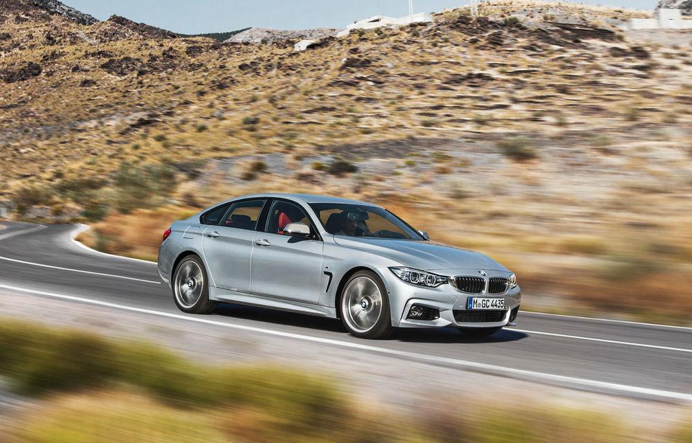 BMW Seria 4 Gran Coupe, al doilea coupe cu patru uşi din portofoliul bavarezilor - Poza 25