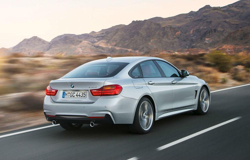 BMW Seria 4 Gran Coupe, al doilea coupe cu patru uşi din portofoliul bavarezilor - Poza 7