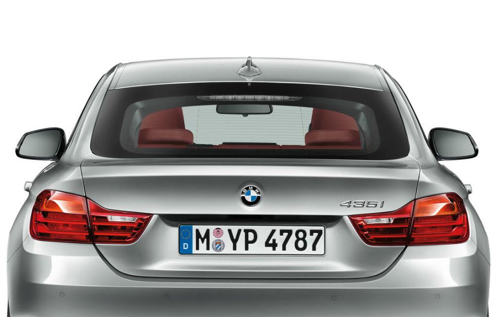BMW Seria 4 Gran Coupe, al doilea coupe cu patru uşi din portofoliul bavarezilor - Poza 98