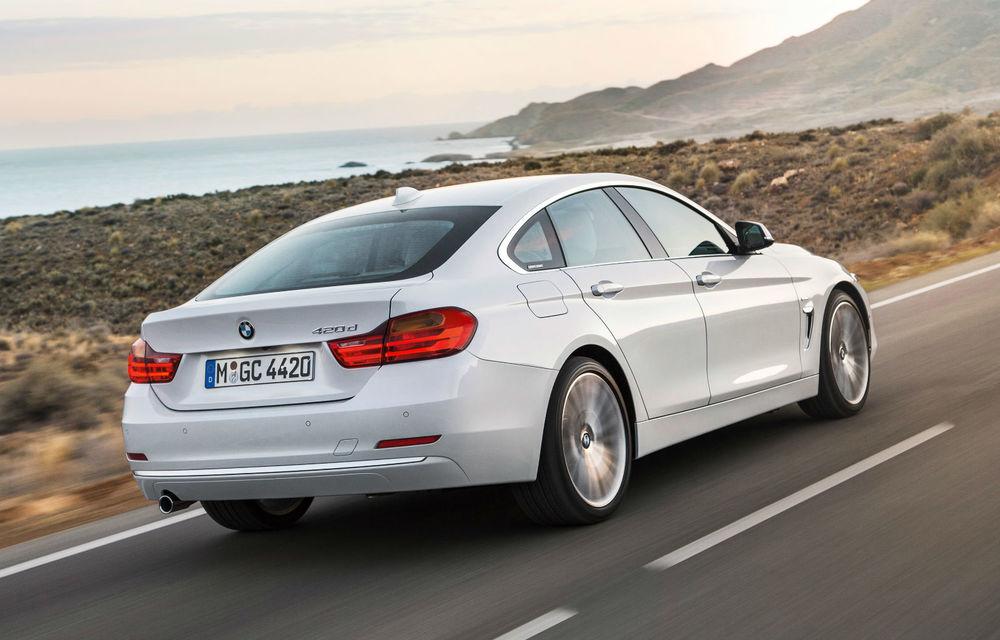 BMW Seria 4 Gran Coupe, al doilea coupe cu patru uşi din portofoliul bavarezilor - Poza 41
