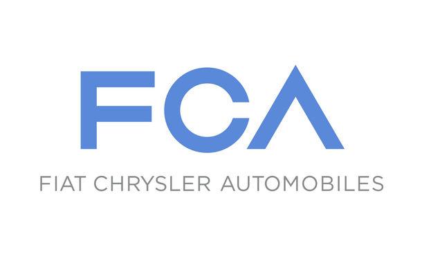 Fiat Chrysler Automobiles, compania realizată în urma unirii Fiat Group - Chrysler Group, şi-a prezentat noul logo - Poza 1