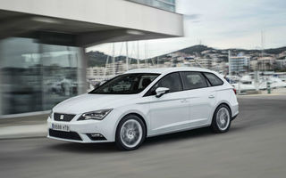 Preţuri Seat Leon ST în România: start de la 15.150 euro