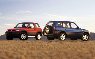 Maşini de poveste: 20 de ani de Toyota RAV4, pionierul crossoverelor