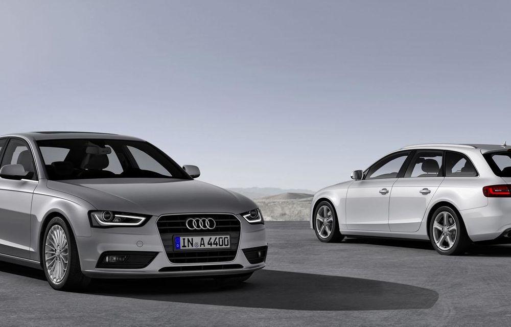 Audi A4, A5 şi A6 primesc versiuni economice Ultra - Poza 15