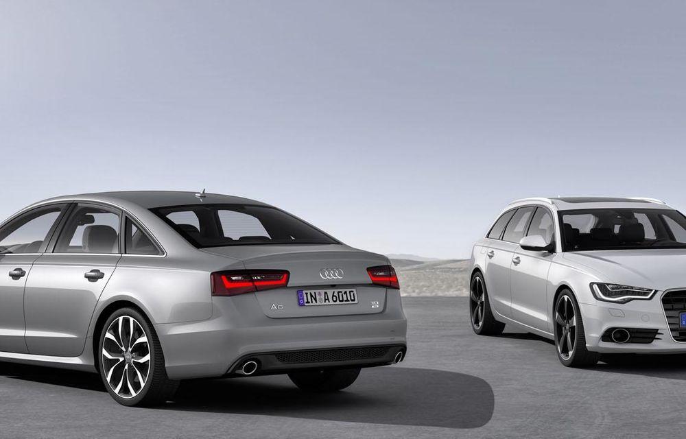 Audi A4, A5 şi A6 primesc versiuni economice Ultra - Poza 3